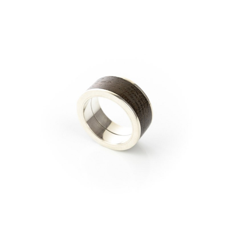 Ring Mooreiche 925 Silber